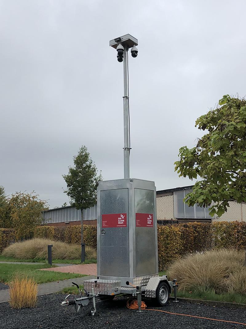 Mobile Videoüberwachungseinheit von DER ALARM PROFI