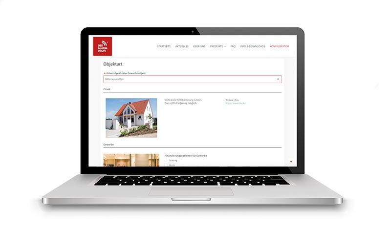 Alarmanlagen Online Konfigurator - DER ALARM PROFI Münsterland